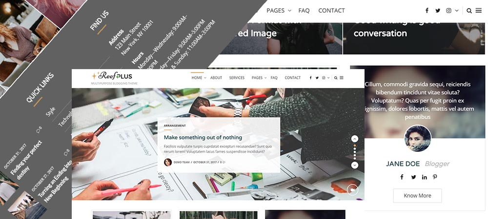 Reef Plus – Premium WordPress Theme now available on Template Sell