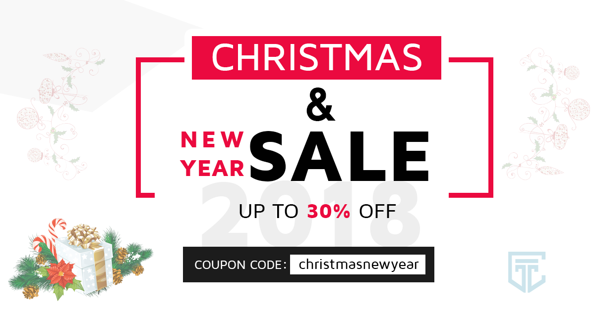 christmas new year wordpress theme discount 2017