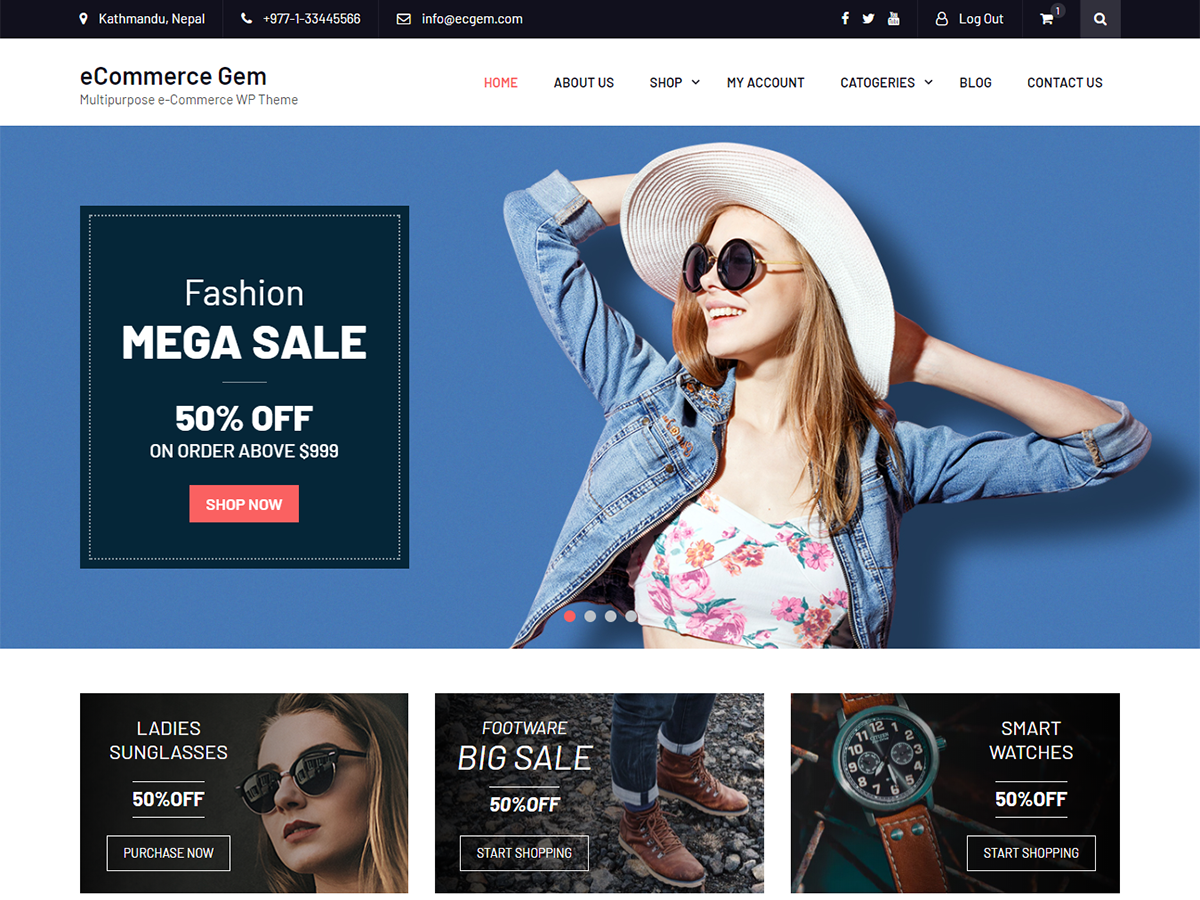 Best fashion wordpress theme 6