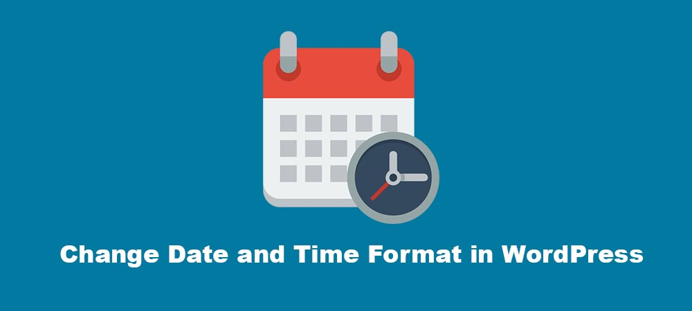 change date time format wordpress