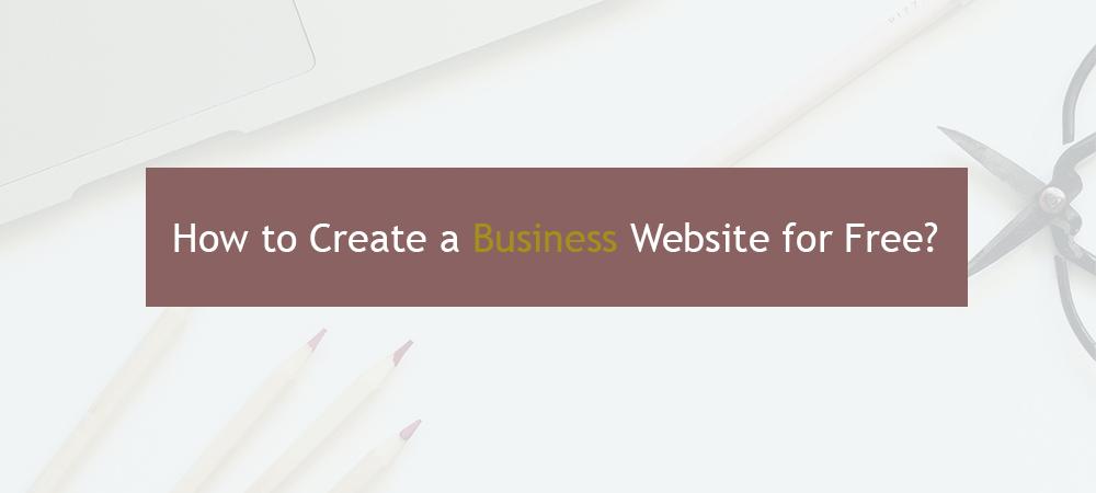 make website for free
