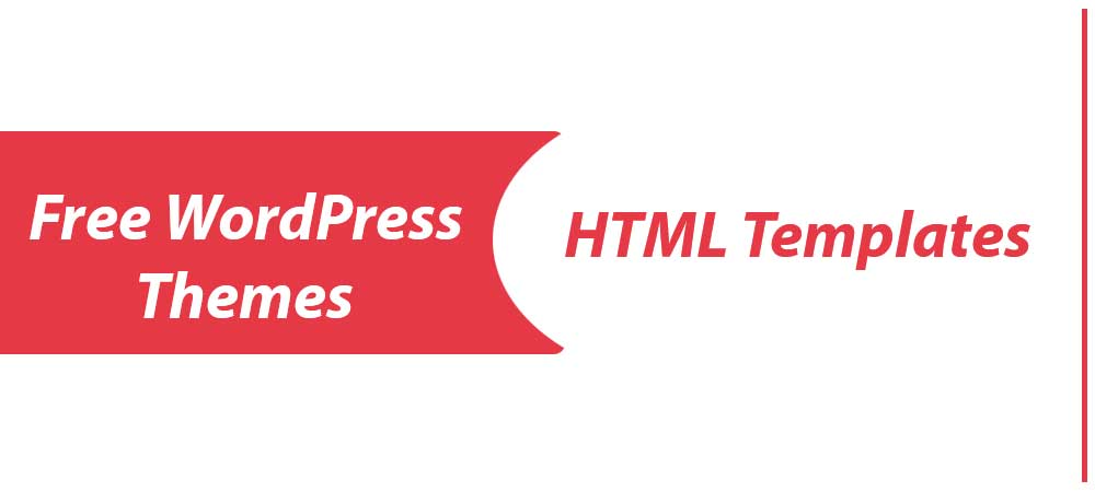 Free WordPress Themes And HTML Templates