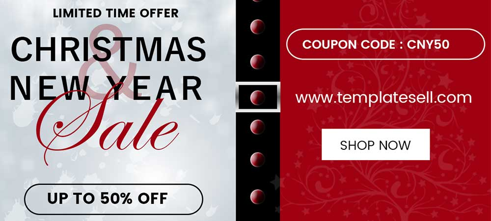 Few Hours Left – New Year and Christmas Great Offers Are Ending Today!