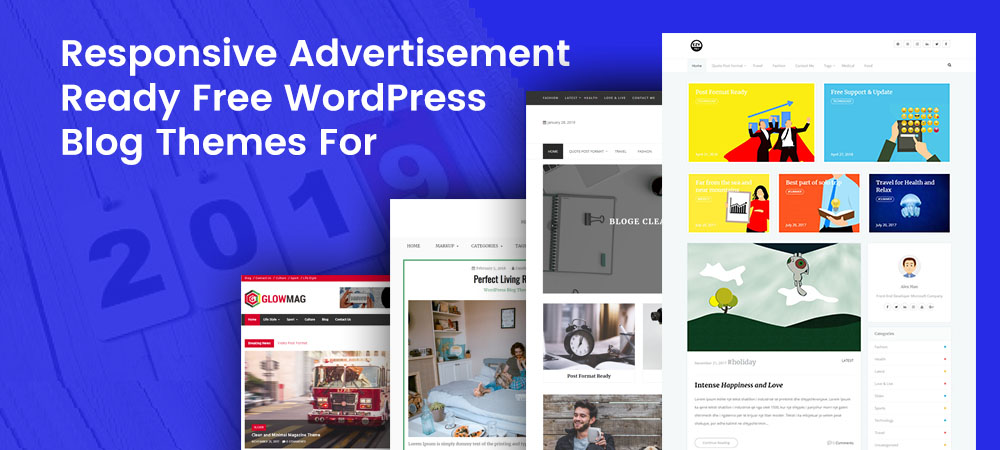 Responsive Advertisement Ready Free WordPress Blog Themes For 2021