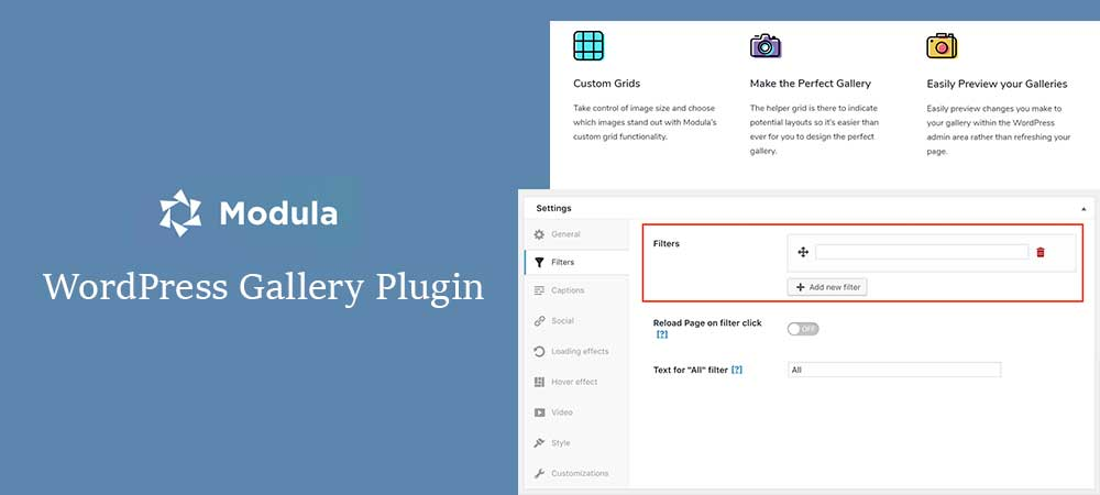 Modula WordPress Gallery Plugin – Responsive WordPress Plugin for Incredible Gallery