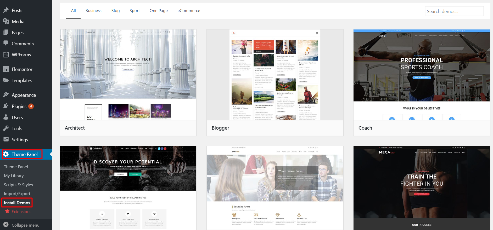 Multipurpose Free WordPress Theme