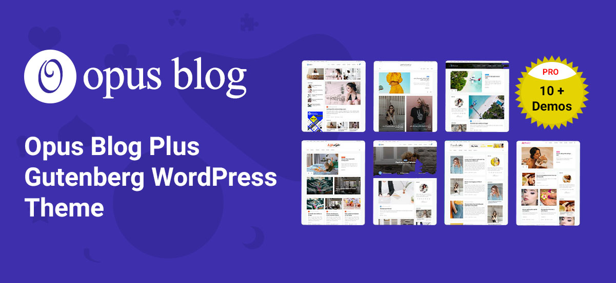 Opus Blog Plus – Premium Post Format Ready Gutenberg WordPress Blog Theme For 2020