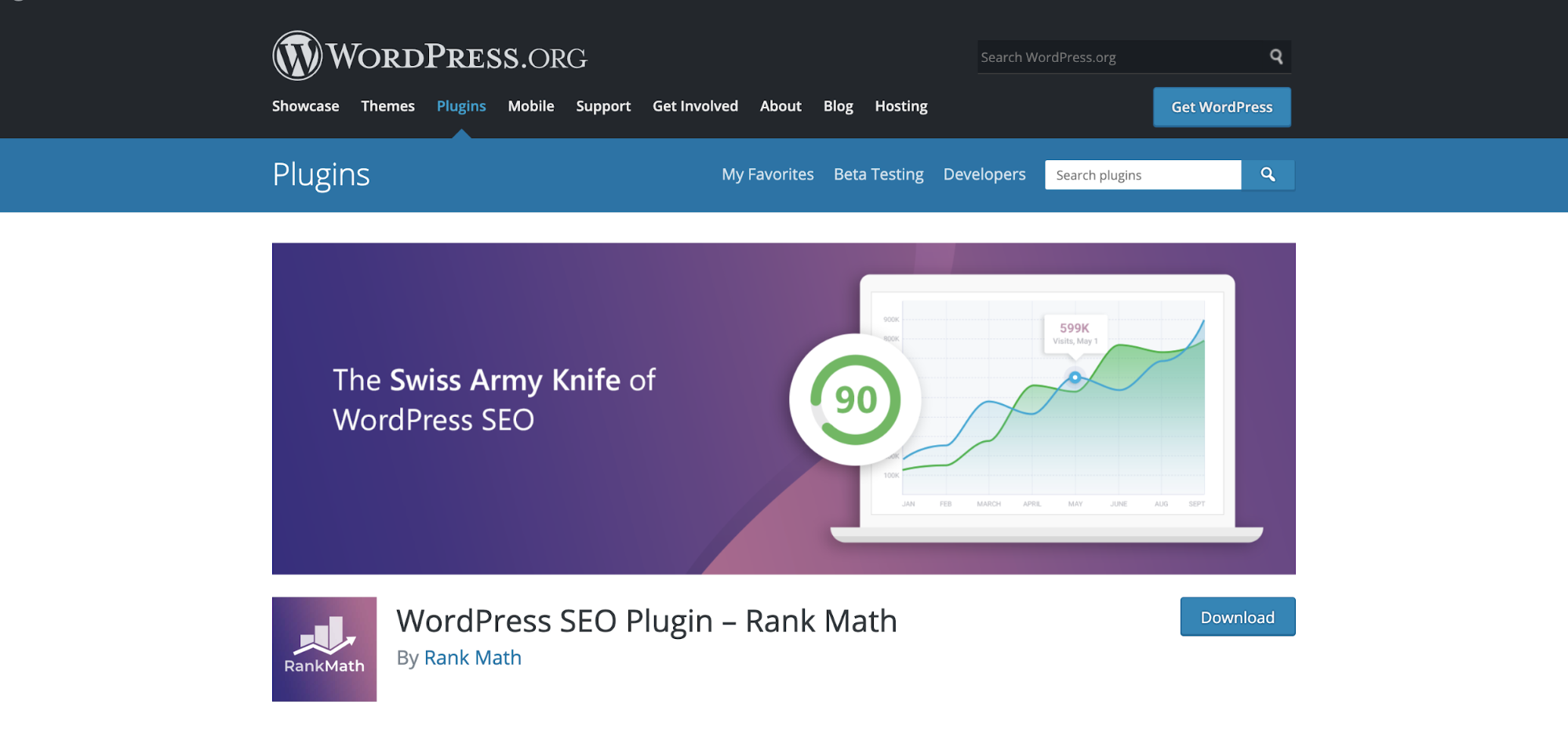 WordPress SEO Plugin Rank Math