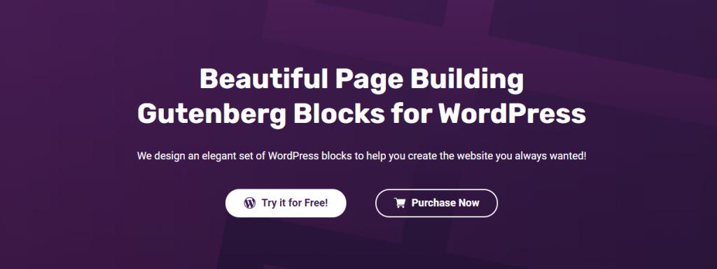 Best Gutenberg Block Plugin Blockspare